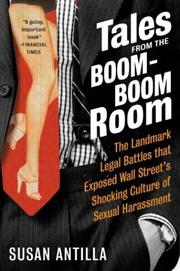 Cover of: Tales from the Boom-Boom Room | Susan Antilla
