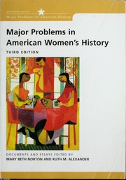 Major Problems in American Women's History
