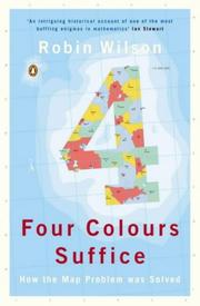 Cover of: Four Colours Suffice
