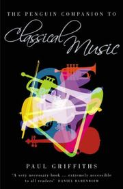 Cover of: The Penguin companion to classical music