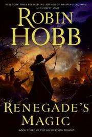Cover of: Renegade's Magic: Book Three of The Soldier Son Trilogy