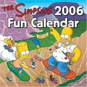 Cover of: The Simpsons 2006 Fun Calendar