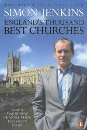 Cover of: England's Thousand Best Churches