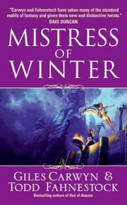 Cover of: Mistress of Winter | Giles Carwyn