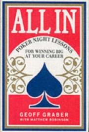 Cover of: All In | Geoff Graber