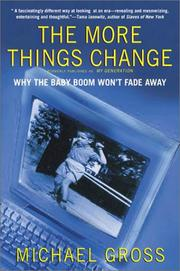 Cover of: The more things change