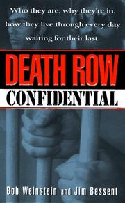 Cover of: Death Row confidential