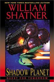 Cover of: Shadow planet: quest for tomorrow