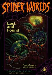 Cover of: Lost and Found (Spider Worlds)