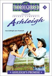 Cover of: Ashleigh's promise