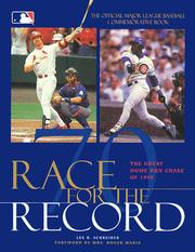 Cover of: Race for the Record | Lee R. Schreiber
