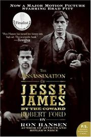 Cover of: Assassination of Jesse James by the Coward Robert Ford, The