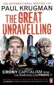 Cover of: The Great Unravelling