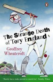Cover of: Strange Death of Tory England, The