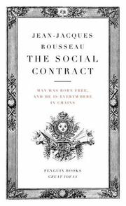 Cover of: Social Contract | Jean-Jacques Rousseau