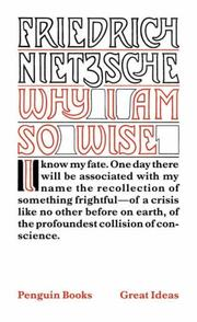 Cover of: Why I Am So Wise