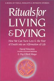 Cover of: Rituals for living and dying