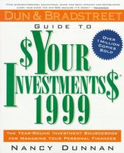 Cover of: Dun & Bradstreet Guide to Your Investments 1999