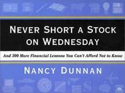 Cover of: Never short a stock on Wednesday