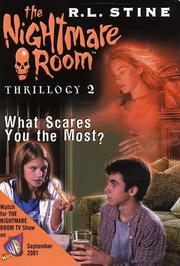 Cover of: What scares you the most?