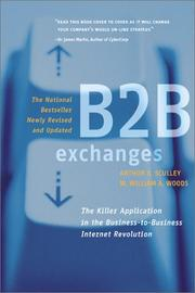 Cover of: B2B Exchanges | Arthur B. Sculley