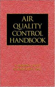 Cover of: Air quality control handbook |