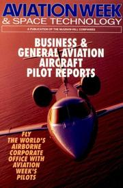 Cover of: Business & general aviation aircraft pilot reports |