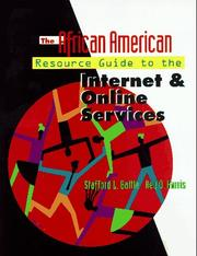 Cover of: The African American resource guide to the Internet and online services