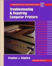 Cover of: Troubleshooting and repairing computer printers