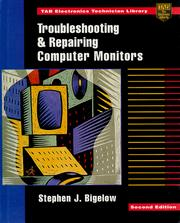 Cover of: Troubleshooting and repairing computer monitors