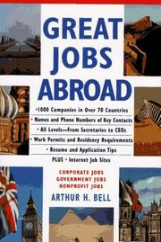 Cover of: Great jobs abroad