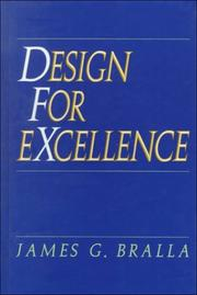 Cover of: Design for excellence