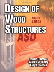 Cover of: Design of wood structures ASD