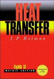 Cover of: Heat Transfer | J.P. Holman