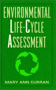 Cover of: Environmental life-cycle assessment