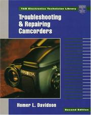 Cover of: Troubleshooting and repairing camcorders | Homer L. Davidson