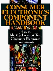 Cover of: Consumer Electronics Component Handbook | Homer L. Davidson