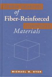 Cover of: Stress analysis of fiber-reinforced composite materials by M. W. Hyer