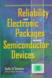 Cover of: Reliability of electronic packages and semiconductor devices