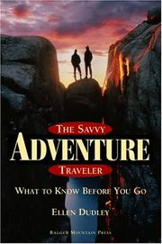 Cover of: The Savvy Adventure Traveler