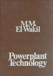 Cover of: Powerplant Technology