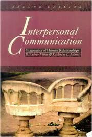 Cover of: Interpersonal communication | B. Aubrey Fisher
