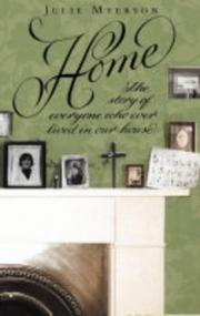 Cover of: Home | Julie Myerson