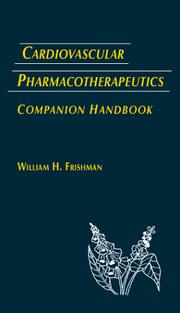 Cover of: Cardiovasular Pharmacotherapeutics Companion Handbook |