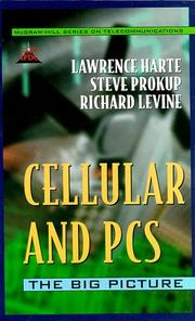 Cover of: Cellular and PCS