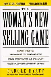 Cover of: The Woman's New Selling Game
