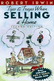 Cover of: Tips and traps when selling a home