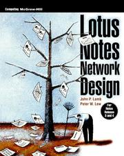 Cover of: Lotus Notes Network Design