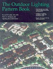 Cover of: The outdoor lighting pattern book
