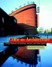 Color in architecture by Harold Linton